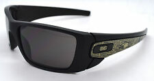 Oakley SI American Heritage Fuel Cell Sunglasses Matte Black w/ Warm Grey