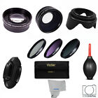 58MM Wide Angle Lens & Telephoto + Filter Kit for Canon EOS Rebel XT XTI XS XSI