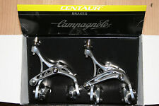 Campagnolo Centaur Skeleton Brake Callipers Pair Front / Rear Silver NOS BOXED