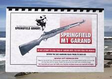 SPRINGFIELD GARAND M1 .30 Cal or 30-'06 or 308 Rifle Owners  Manual