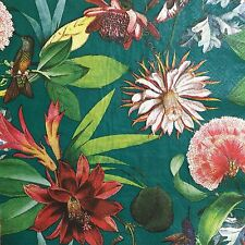 2 single paper napkins decoupage scrapbooking craft or collection Exotic Flowers