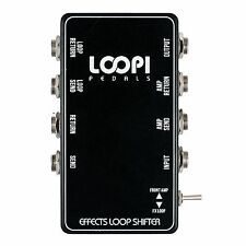 Effects Loop Switcher Pedal Patchbox - Loopi Pedals