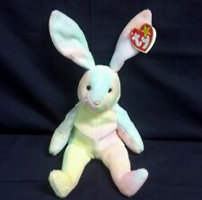 Ty Beanie Babies Hippie the Bunny Rare with Error - RETIRED