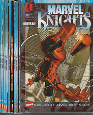 MARVEL KNIGHTS 1ère Série N° 1 à 7 + 16-18-19-20 Marvel France Panini 11 comics