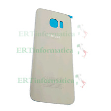BATTERY COVER COPRI BATTERIA SAMSUNG GALAXY S6 EDGE G925 ORO GOLD + SCRITTE