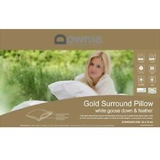 Downia Gold Goose Down & Feather Surround Pillow RRP $199.95