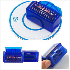 Blue Smart ELM327 V2.1 Bluetooth ODB2 Vehicle Scanner Torque Diagnostic Tool Kit