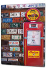 Tin Sign XXL Garage Gas pump Gas Stations Vintage metal plate plaque