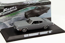 Dom's Chevrolet Chevelle SS Film Fast and Furious IV 2009 gris 1:43 Greenlight