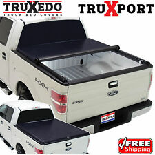 TruXedo TruXport Tonneau Roll Up Cover for 15 16 17 Ford F150 5.5 Ft Bed 297701