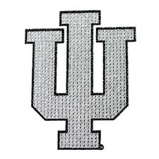 Indiana Hoosiers Bling Auto Emblem [NEW] NCAA Car Decal Glitter Sticker CDG
