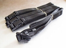 4-pack of 2.5m x 25mm Side-Release Buckle Straps; Luggage, Trailer, Tie Down