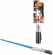 STAR WARS VII LUKE SKYWALKER SWORD SPADA LASER LIGHTSABER DISNEY HASBRO REY #1