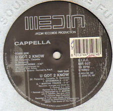 CAPPELLA - U Got 2 Know (Remixes) - Media