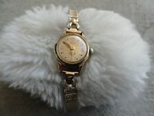 Vintage Wind Up Meridian 17 Jewels Incabloc Ladies Watch