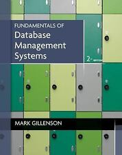 Fundamentals of Database Management Systems by Gillenson, Mark L.