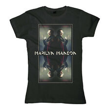 MARILYN MANSON - Manson Mirrored - Girlie Girl Damen Woman Shirt - Größe Size M
