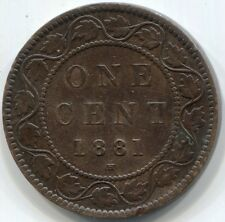 1881H CANADA ONE CENT Coin