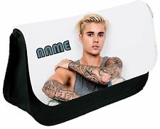 JUSTIN BEIBER #1 PERSONALISED PENCIL CASE
