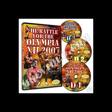 BATTLE FOR THE OLYMPIA 2007 bodybuilding dvd Mr Olympia IFBB NPC Jay Cutler