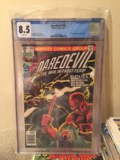 Daredevil #168 - CGC 8.5 White Pages - 1st Appearance Elektra