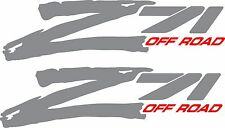 "Z71 Offroad Decals ""Sold In A Pair"" Left and Right side"