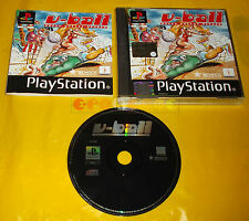 V-BALL BEACH VOLLEY HEROES Ps1 Versione Italiana 1ª Edizione V Ball ○○○ COMPLETO
