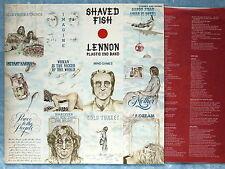 JOHN LENNON Shaved Fish EAS-80380 JAPAN LP 034az23