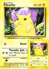 "GIANT PIKACHU Pokemon Magazine PROMO CARD 8"" X 6"" MINT/NEAR MINT! COLLECTIBLE!"