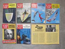 Science & Vie - Lot de 7 numéros des années 60