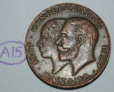 Canada 1867 - 1927 Confederation Medal - Token Lot #A15