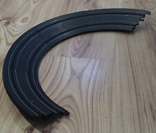 MICRO SCALEXTRIC TRACK - L7550 Rare banked curves bends x 4 - BLACK
