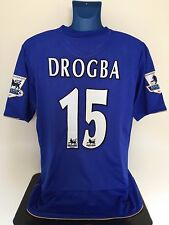 Chelsea FC DROGBA 05/06 Home Football Shirt (XL) Soccer Jersey