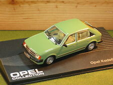 OPEL Kadett 1.6s / Vauxhall Astra 5 Door in Green 1/43rd Scale