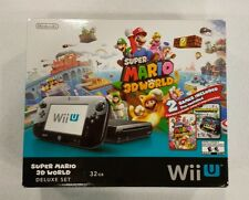 Wii U Super Mario 3D World Deluxe Set, Brand New
