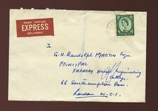 GB 1958 POST OFFICE EXPRESS DELIVERY 1/3 WILDING SINGLE FRANKING