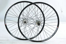 "26"" MTB SHIMANO 8/9 CASSETTE DISC BRAKE BIKE WHEELS DUAL WALL SUB ZERO 559 RIM"