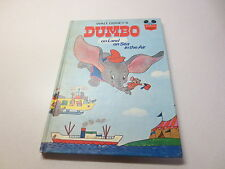 Walt Disney's Dumbo on Land on Sea in the Air Wonderful World of Reading 1972