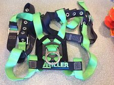 MILLER BY HONEYWELL 650T-4/UGK Harness, Back D-Ring, Tongue Leg Straps