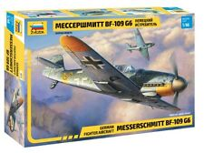 Zvezda 1/48 Messerschmitt Bf-109 G6 German Fighter Aircraft # 4816
