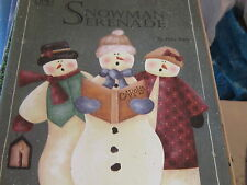 Snowman Serenade by Myra Mahy Decorative Painting craft book booklet holiday