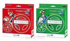Hori Wii U Mario Kart 8 Handle for Wii Remote Mario & Luigi Set Japan Import