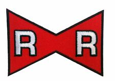 "Dragon Ball Z Red Ribbon Mark Patch 3 x 2""    Iron on"
