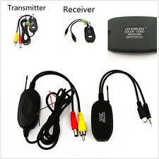 Wireless 2.4Ghz RCA Video Transmitter & Receiver Kits For Car Reversing Camera