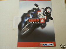 S271 SUZUKI BROCHURE SUMO FINANCE AND 2000 GAMMA DUTCH 4 PAGES BIKES,MOPEDS