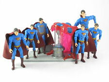 Dc Comics Superman 6 Figuras Diferentes devoluciones Super aliento Plus Sdcc Plataforma