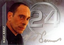 24 - Twenty Four Season 3 Auto Card A4 Nestos Serrano