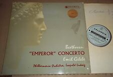 Gilels/Ludwig BEETHOVEN Emperor Concerto - Columbia Blue/Silver SAX 2252