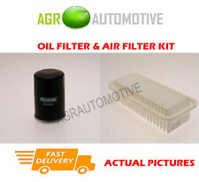 PETROL SERVICE KIT OIL AIR FILTER FOR TOYOTA YARIS 1.0 68 BHP 1999-05