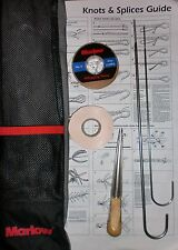 Marlow Rope Splicing Kit Marlowbraid 3 strand needles fid whipping twine tape